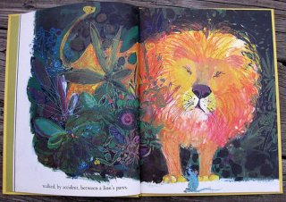 Brian wildsmith The Lion and the Rat flickr wherethelovelythingsare  02.jpg