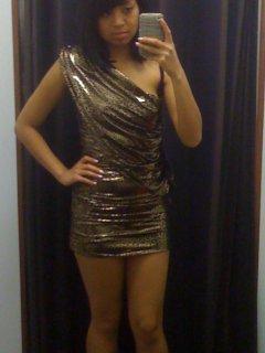 bebe metallic leopard dress.JPG